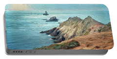 France - La Pointe Du Raz Portable Battery Charger