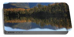 Franconia Ridge From Lonesome Lake Portable Battery Charger by Roupen  Baker