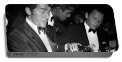 Frank Sinatra Drank American Whiskey His Way Portable Battery Charger