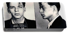 Frank Sinatra Mug Shot Horizontal Portable Battery Charger