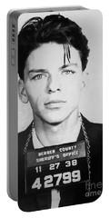 Frank Sinatra Mugshot Portable Battery Charger