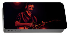 Frank Zappa 2 Portable Battery Charger by Paul Meijering