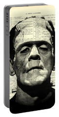 Frankenstein On Dictionary Page Portable Battery Charger