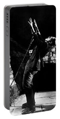 Frankensteins Monster Chained The Castle Played By Boris Karloff Portable Battery Charger