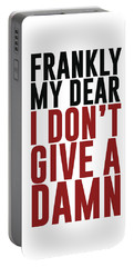 Frankly My Dear, I Don't Give A Damn Portable Battery Charger