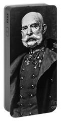 Franz Joseph I, Emperor Of Austria Portable Battery Charger