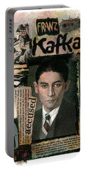 Franz Kafka Portable Battery Charger