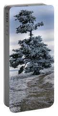 Frasier Fir Tree Grows Naturally Portable Battery Charger by Serge Skiba