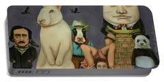 Freak Show Portable Battery Charger by Leah Saulnier The Painting Maniac