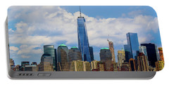 Freedom Tower Nyc Portable Battery Charger