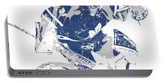 Frederik Andersen Toronto Maple Leafs Pixel Art 5 Portable Battery Charger