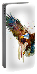 Free And Deadly Eagle Portable Battery Charger by Marian Voicu