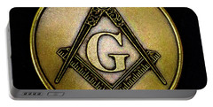 Free Masons - Knights Templar Portable Battery Charger by Paul W Faust - Impressions of Light