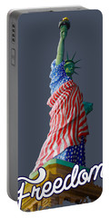 Queen Liberty Portable Battery Charger