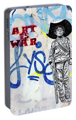 Portable Battery Charger featuring the photograph Freedom Fighter by Art Block Collections