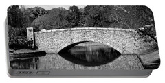 Freedom Park Bridge In Black And White Portable Battery Charger