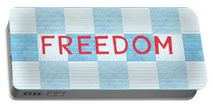 Freedom Patchwork Portable Battery Charger