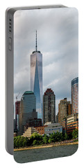 Freedom Tower - Lower Manhattan 1 Portable Battery Charger