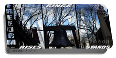 Freedom Triptych Rises Rings Stands Portable Battery Charger