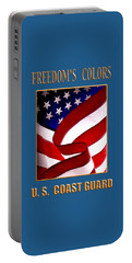 Freedom's Colors Uscg Portable Battery Charger