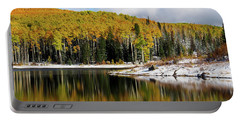 Freeman Lake In Northwest Colorado In The Fall Portable Battery Charger