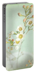 Freesia Blossom Portable Battery Charger by Lyn Randle