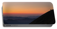 Fremont Lookout Sunset Layers Vision Portable Battery Charger by Mike Reid