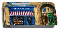 French Cheese Shop Portable Battery Charger