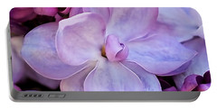 French Lilac Flower Portable Battery Charger