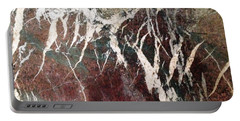 French Marble Portable Battery Charger