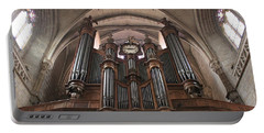 Portable Battery Charger featuring the photograph French Organ by Christin Brodie