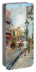 French Quarter Antiques Portable Battery Charger