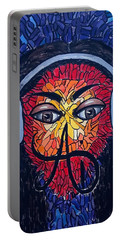 Frequencial - Abstract Art Music Painting - Ai P.nilson Portable Battery Charger