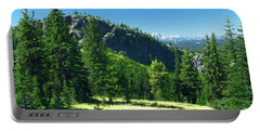Portable Battery Charger featuring the photograph Fresh Air In The Mountains Photo Art by Sharon Talson