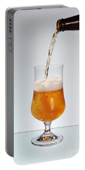Fresh Beer Filling Glass On Stem  Portable Battery Charger