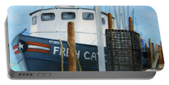 Fresh Catch Fishing Boat Portable Battery Charger