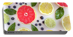 Fresh Citrus Fruits Portable Battery Charger