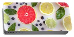 Fresh Citrus Fruits Portable Battery Charger