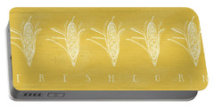 Fresh Corn- Art By Linda Woods Portable Battery Charger