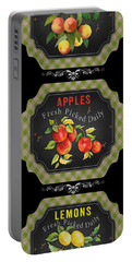 Fresh Fruit Trio--jp3759 Portable Battery Charger