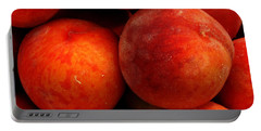Fresh Fuzzy Peaches Portable Battery Charger