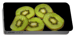 Fresh Kiwi Fruits Portable Battery Charger