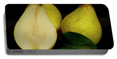 Fresh Pears Fruit Portable Battery Charger by David French
