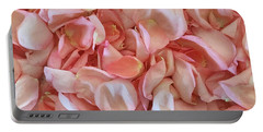 Fresh Rose Petals Portable Battery Charger