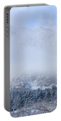 Fresh Snow In Cheyenne Mountain State Park Portable Battery Charger