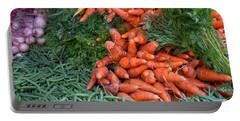 Fresh Veggies Portable Battery Charger