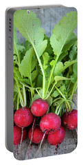 Portable Battery Charger featuring the photograph Freshly Picked Radishes by Elena Elisseeva