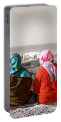 Friends, Morocco Portable Battery Charger by Susan Lafleur