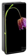 Fritillaria Meleagris, Snakes Head Fritillary Portable Battery Charger