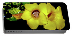 Frog And Flower Portable Battery Charger